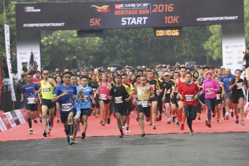 Compressport Heritage Run: Event Lari Seru Sambil Menikmati Warisan Kebudayaan Indonesia